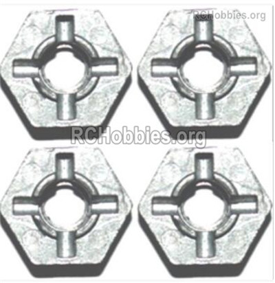 Subotech BG1525 Hexagonal round seat  Parts For the Wheels and Tires. H15061303. Total 4pcs.